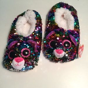 TY Soft, Fuzzy Adorable Slippers